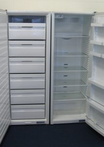 Absf2 Fisher And Paykel Pigeon Pair Fridge And Freezer